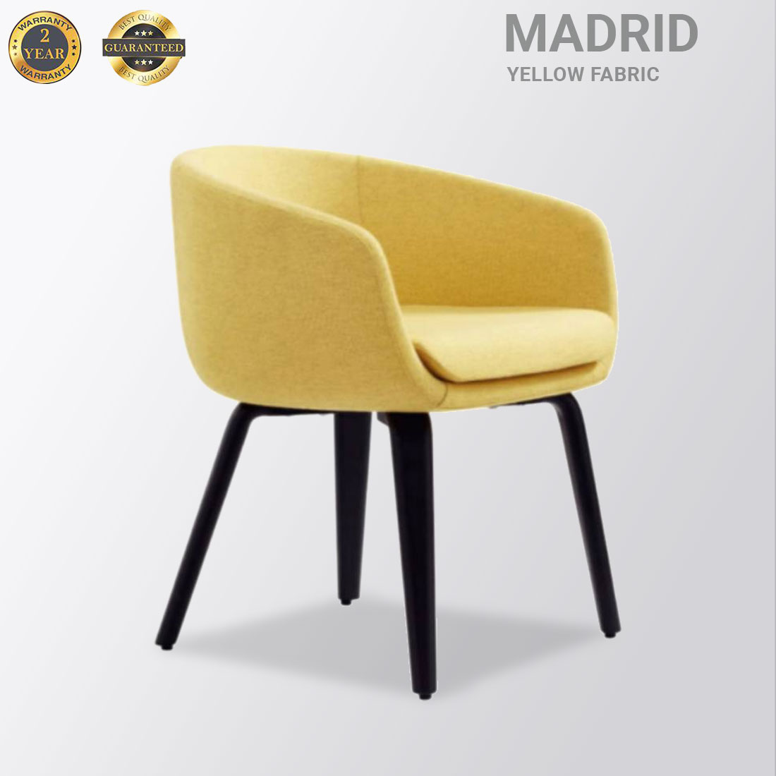 Madrid Fabric Yellow