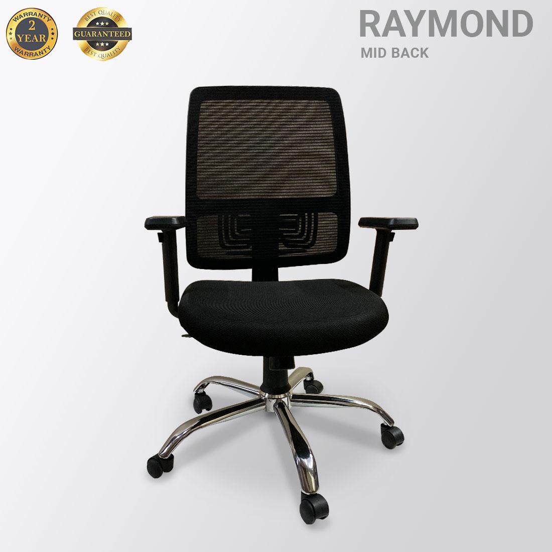 RAYMOND  MID BACK MESH BLACK