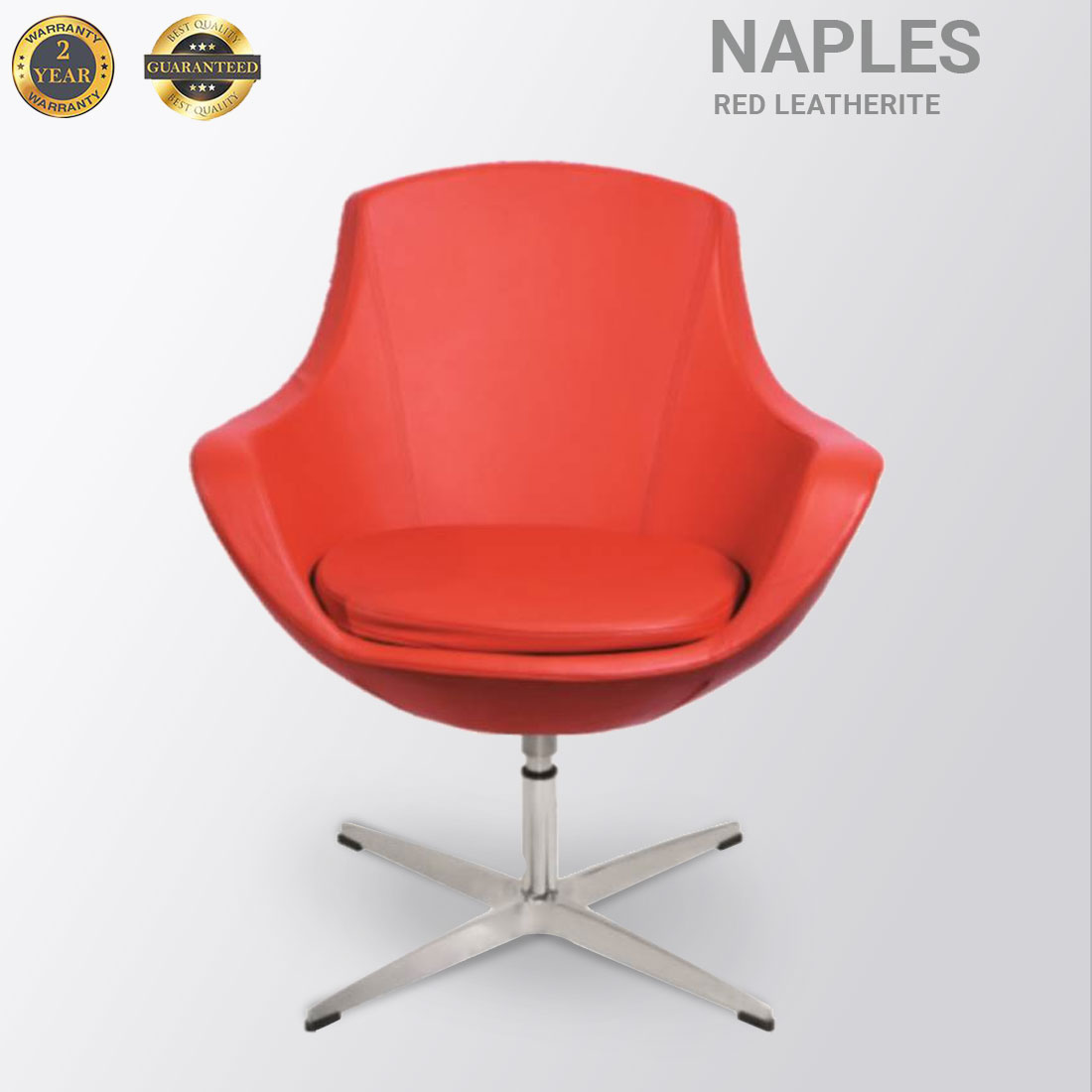 NAPLES LEATHERITE  RED