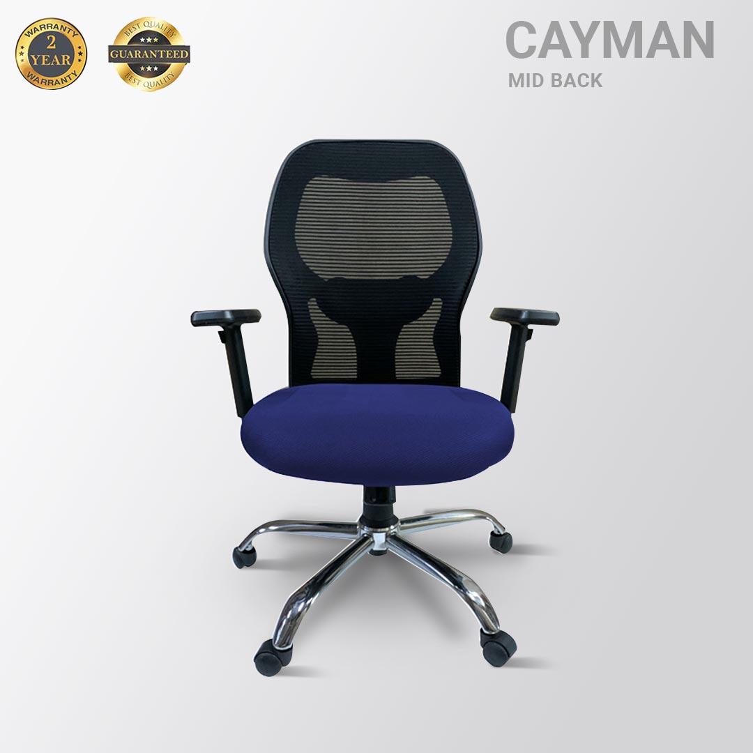 CAYMAN MID BACK MESH BLUE