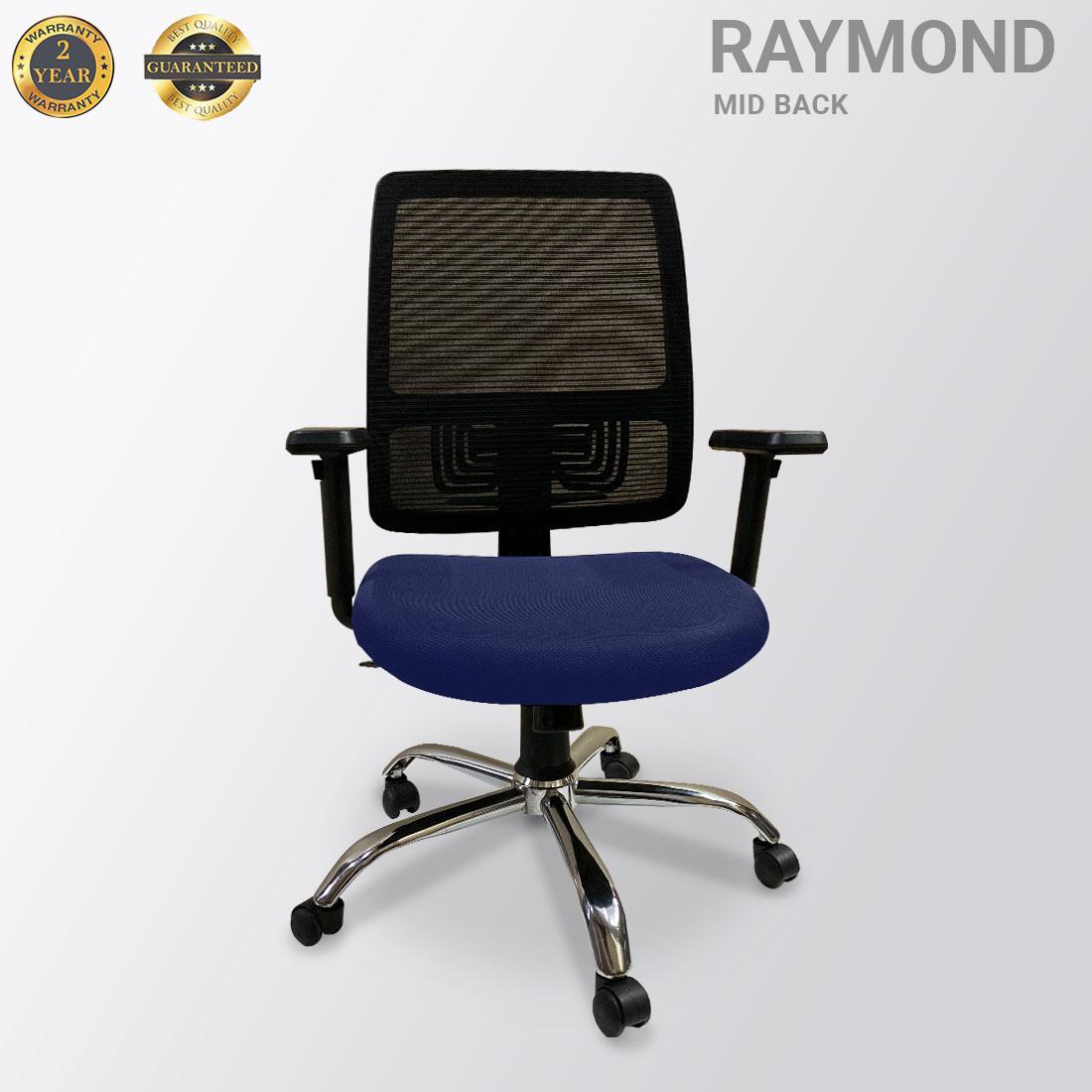 RAYMOND  MID BACK MESH BLUE