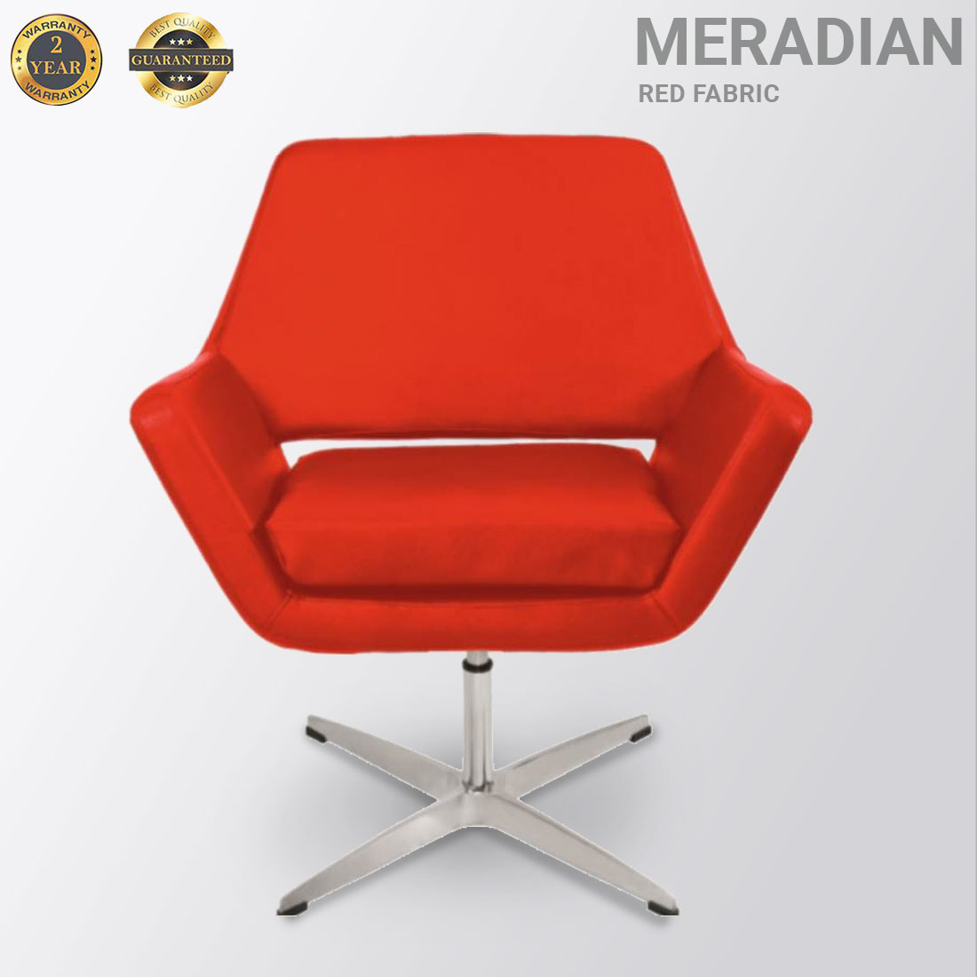 Meridian Fabric Red