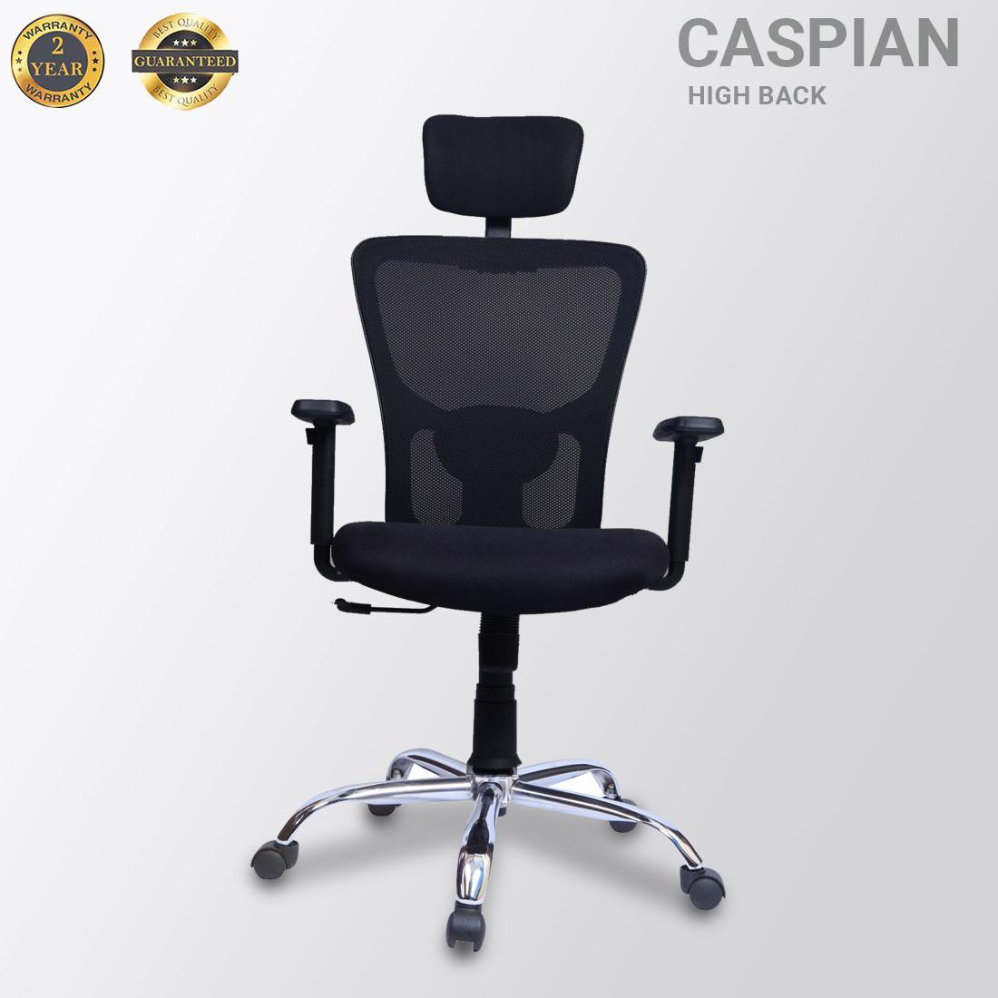 Caspian High Back Mesh