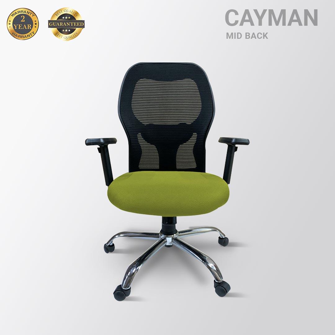 CAYMAN MID BACK MESH GREEN