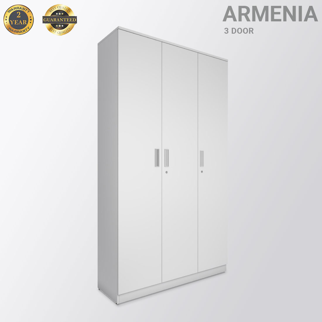 Armenia white three door