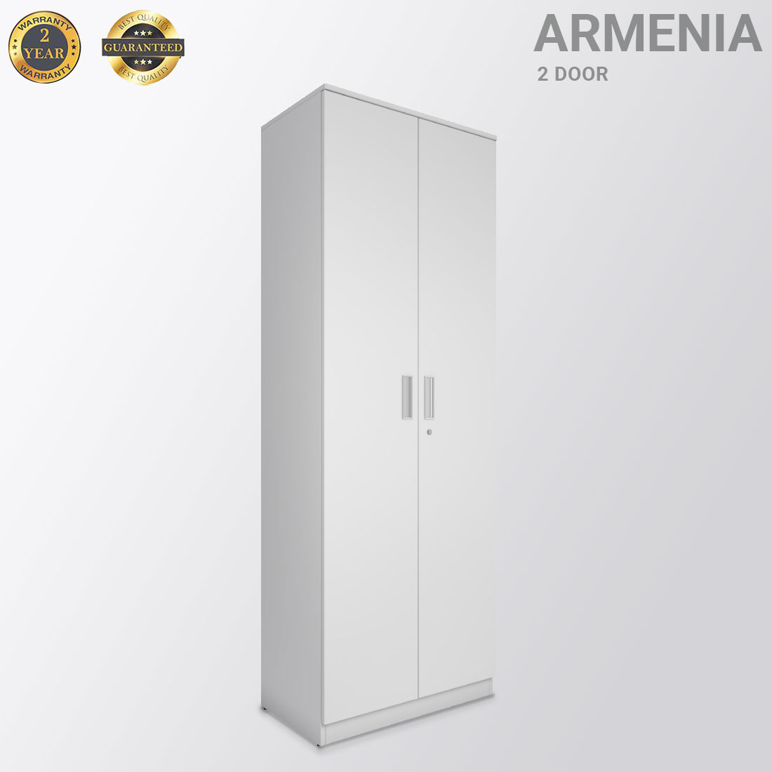 Armenia white  2 door